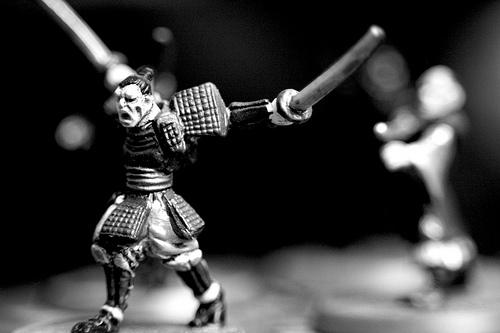 Samurai warrior, warrior poet
